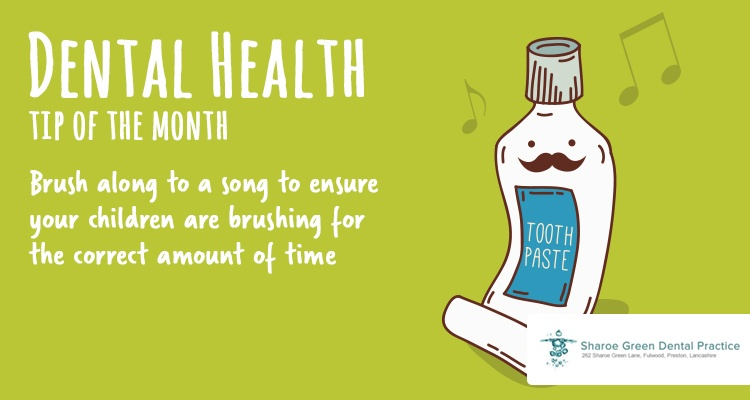 Dental Health Tip of the Month - August